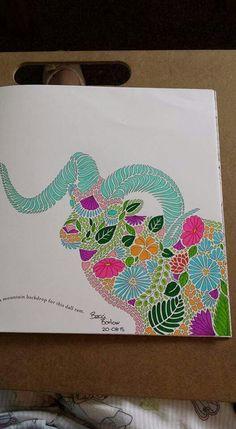 Reggie the ram from Millie Marotta's Animal Kingdom #milliemarotta #animalkingdom #adultcoloring