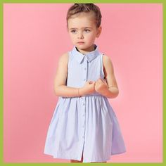 2016 Baby Girl Summer Princess Sofia Denim Dresses July Summer Style Frock Design Clothes for Girl age 2 3 4 5 6 7 8 T Year Frocks For Babies, Baby Girl Frocks, Frocks For Girls, Kids Frocks, Frock Patterns, Baby Dress Patterns, Baby Girl Fashion, Kids Fashion, Princess Fashion