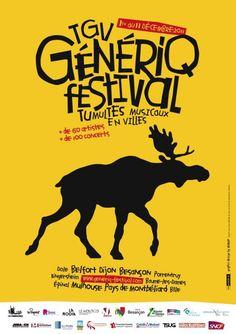 Affiche : Festival TGV GéNéRiQ - Épinal