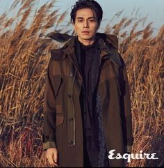 The combination of Lee Dong Wook and a cold winter beach fits perfectly into the Esquire ethos, and comes at a great time to remember Lee Dong Wook's now most famous drama role. Asian Actors, Korean Actors, Winter Beach, Korean Star, Korean Guys, Asian Guys, Asian Men, Male Fashion Trends, Gong Yoo