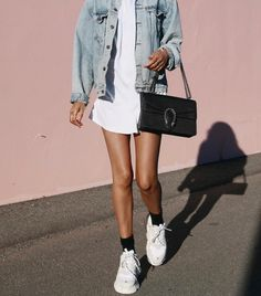 416bee4709 44 Best Denim jacket and dress images