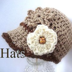 Crochet Hats for Everyone | Patterns by leta