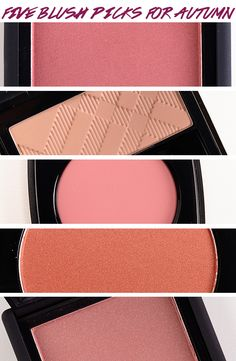 Top 5 Blushes for Autumn (2013 Edition)