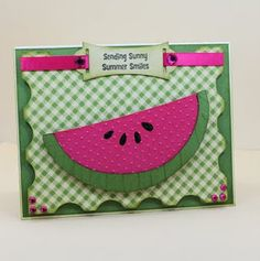 watermelon - sunny summer smiles