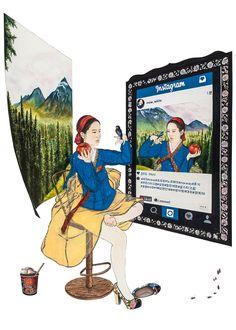You can see asian pop artist Kim Hyun-Jung's artworks and activities. Korean Painting, Chinese Painting, Korean Traditional, Traditional Art, Traditional Clothes, Interactive Web Design, Korea Design, Asian Cosplay, Kim Hyun