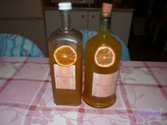 Pomarančový likér I. (fotorecept) - obrázok 11 Cocktail Recipes, Cocktails, Home Canning, Beverages, Drinks, Smoothie, Food And Drink, Cooking, Health