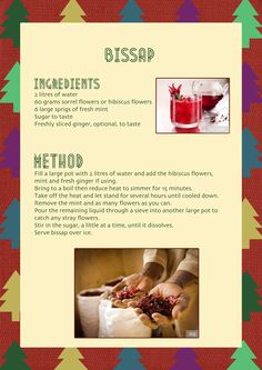 @Compassion UK shares this recipe from Burkina Faso, the local bissap is a huge hit at Christmastime. learn how to make it! #burkinafaso