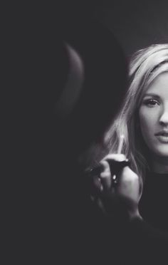 Black & white. Ellie Golding, Flawless Beauty, Love Me Like, Hot Blondes, Woman Crush, Starry Eyed, Celebs, Black And White, Singers
