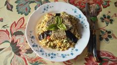 Salade de riz, terrine de pois chiche aux haricots verts et herbes, nori et basilic / Salad of rice, terrine of chickpea with French beans and herbs, nori and basil 2014-09-22