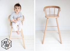 Deze #vintage look stoel is nieuw Ook in #pastel kleuren verkrijgbaar | KifKef via Kinderkamerstylist
