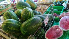 Cretan melons.