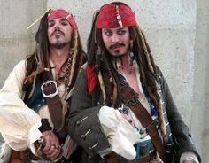 Se você é fã de Jack Sparrow, então aproveite o carnaval para lhe prestar uma homenagem e se divertir com esse personagem :) #fantasias #carnaval