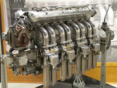 Introduced in 1926, Miller's 91 model engine came third in a series of similar designs.