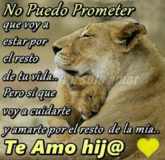 Quiere que este como lis extraño mis principes. Daughter Quotes, Mother Quotes, To My Daughter, Motivational Phrases, Inspirational Quotes, Message To My Son, Simpsons Frases, Love Smiley, Lion Family