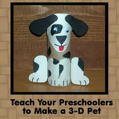Preschool Pet Crafts: Make a 3-D Pet and a Pet Bulletin Board for Your Preschoolers