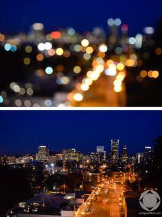 Bokeh of the City, Portland, OR