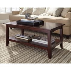 Shop for Fair Haven 42-inch Wood Coffee Table with Shelf. Get free shipping at Overstock.com - Your Online Furniture Outlet Store! Get 5% in rewards with Club O! - 16176806