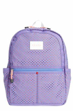 ba744efc9255 STATE Bags Perforated Hearts Kane Backpack (Kids) Girls Accessories