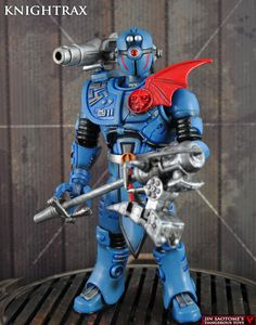 Knightrax (Masters of the Universe) Custom Action Figure