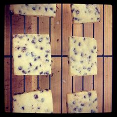 Chocolate Chip Shortbread Cookies - The Cake Merchant Cookie Desserts, Cupcake Cookies, Cookie Recipes, Shortbread Recipes, Baking Cookies, Cupcakes, Cake Merchant, Chocolate Chip Shortbread Cookies, Kitchen Aid Recipes