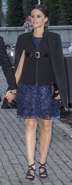 Swedish Royals attended a ballet  performance at Sweden's Royal Opera in Stockholm, Sweden, on September 15, 2015.