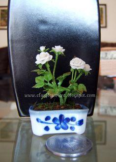 Rose - Miniature | Clay Flower Art