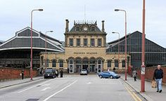 Image: 'Preston railway Station(1880). Main entrance.', found on flickrcc.net