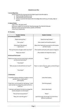 araling panlipunan lesson plan semi detailed A three-stage lesson plan on peace education combining engaging discussions,  video, games and discussion questions.