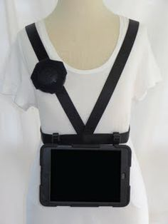 Med sized mobile device harness