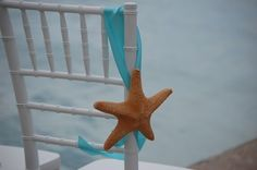Starfish Wedding Ceremony Aisle Marker by sweetingredients on Etsy, $11.75
