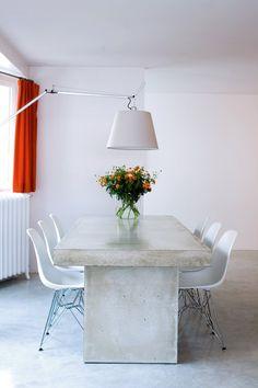 sala de jantar pe suacasamoderna