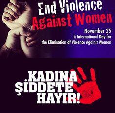 Kadına şiddet acizliktir!!