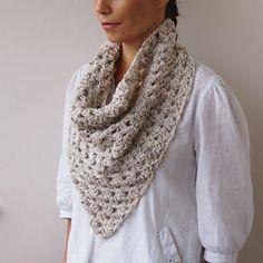 PDF crochet PATTERN triangle granny cowl by byaccessorise on Etsy, $5.00