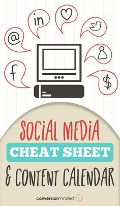 If you want to use social media to grow your business, but are a little stumped with what to do and when, this social media cheat sheet is for you! Social Media Cheat Sheet, Social Media Content, Social Media Tips, Social Media Management, Facebook Marketing, Online Marketing, Social Media Marketing, Content Marketing, Mobile Marketing