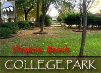 College Park Homes For Sale - Virginia Beach Residence Real Estate Tips, Park Homes, Virginia Beach, The Neighbourhood, College, Live, Outdoor Decor, Plants, The Neighborhood