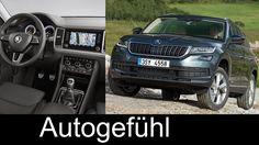 Skoda Kodiaq detail shots Exterior/Interior/Driving scenery all-new SUV ...