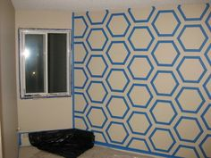 How To Make Your Own Diy Bedroom Wall Art Using Just Simple Paint Wall Designs With Tape