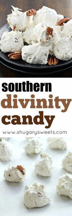 Divinity Candy is a Southern classic. Just one bite and you'll be hooked!