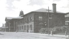 Grand Rapids Train Depot on Ionia Ave SW, now the Van Andel Arena parking lot across from Hopcat - c. 1910