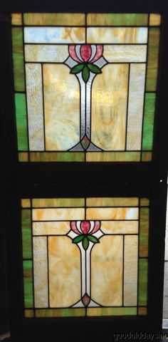 US $995.00 in Antiques, Architectural & Garden, Stained Glass Windows