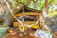 Delta Camps is situated on a small island in the heart of the Okavango Delta and is the ideal venue for nature lovers