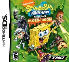 Nintendo DS THQ Toys SpongeBob Square Pants featurin VideoGames