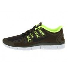 info for b9c1c 54d13 Chaussures de Running Nike Free 5.0 Shield Homme Code de Style  615988-307  Sombre Loden   Fluo   Platine Pur   Noir-20