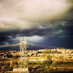 #temporale nel #cielo di. #roma #rome #sky #cloud #color #colori. #arcobaleno #rainbow #natura #nature #nuvole #ig_roma #ig_italia #igersroma #lanscape #instascape #instalandscape #instaitalia #igersitaly
