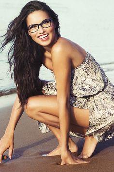 Adriana Lima for Vogue Eyewear Spring 2015