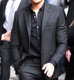 Dark Suit, Black shirt