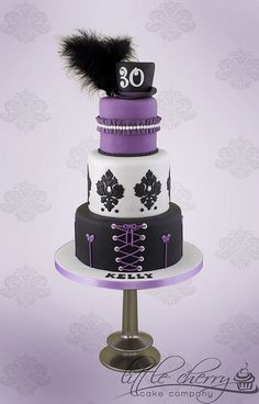 Burlesque Cake | by Little Cherry Cake Company