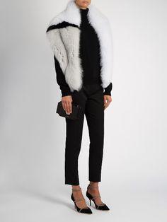 LILLY E VIOLETTA #fashion #fur #mink #jacket #lillyevioletta @lillyevioletta1 #scarf