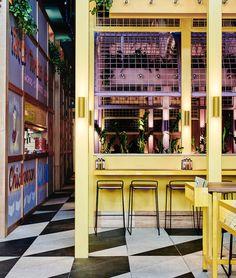 Colorful and Architectural Restaurant in Australia – Fubiz Media