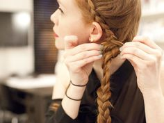Easy French Braided Hairstyles - New Ways to Braid Your Hair - Seventeen